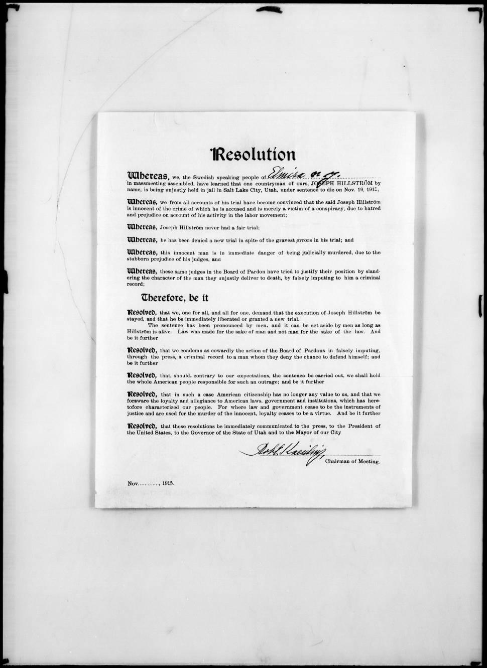 Court document on John D. Lee
